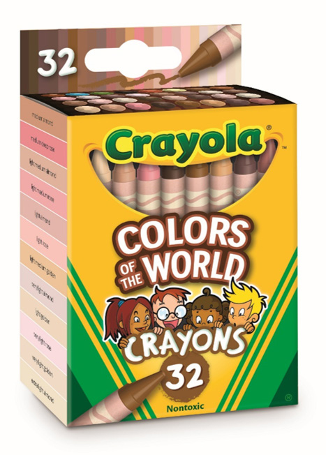 Crayola colors of world