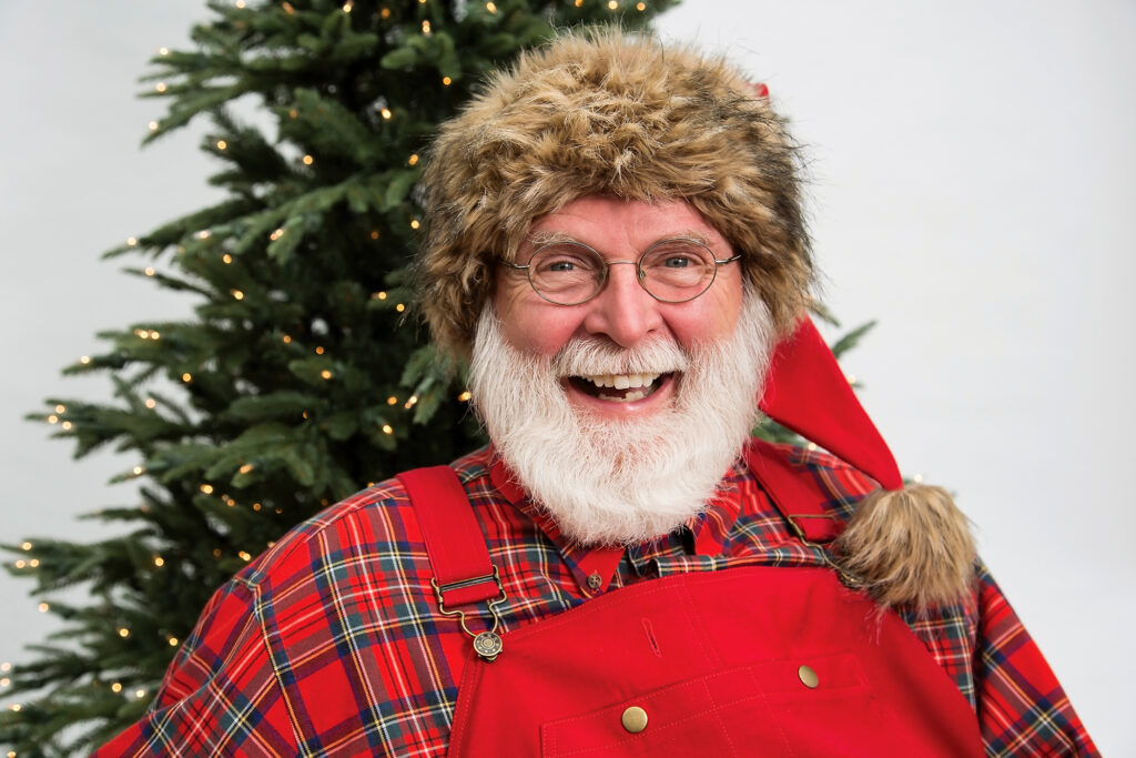 Mike Mann as Santa. Photo by Tracy Walsh