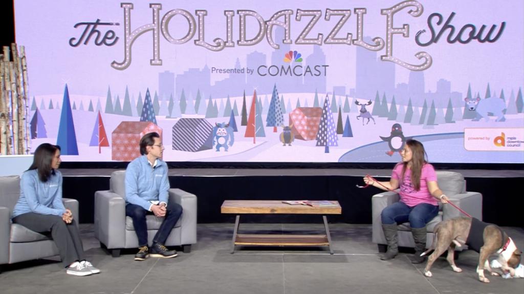 Holidazzle Show